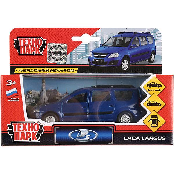 ТЕХНОПАРК Машинка Технопарк Lada Largus, инерционная, 12 см, синяя