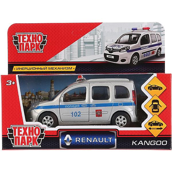 Фото - ТЕХНОПАРК Машинка Технопарк Renault Kangoo полиция, инерционная, 12 см технопарк машинка технопарк урал 5557 полиция 12 см