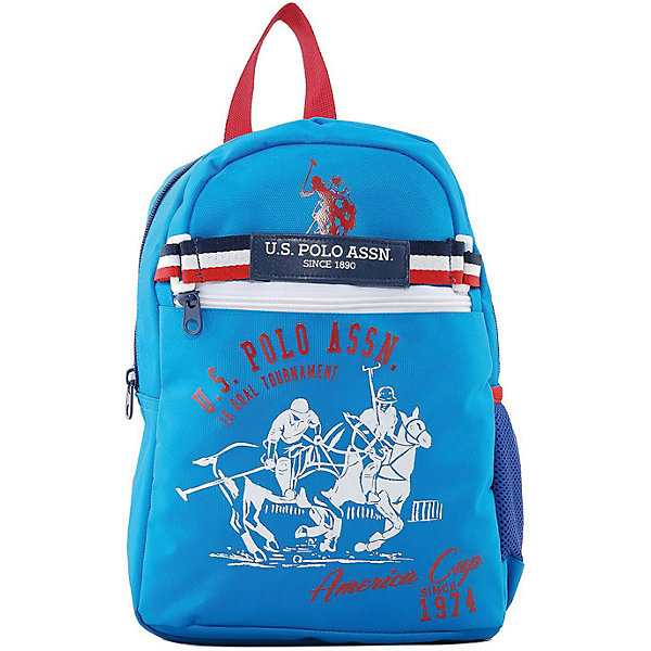 U.S. POLO ASSN. Рюкзак U.S. Polo Assn, голубой кеды u s polo assn u s polo assn mp002xw02469
