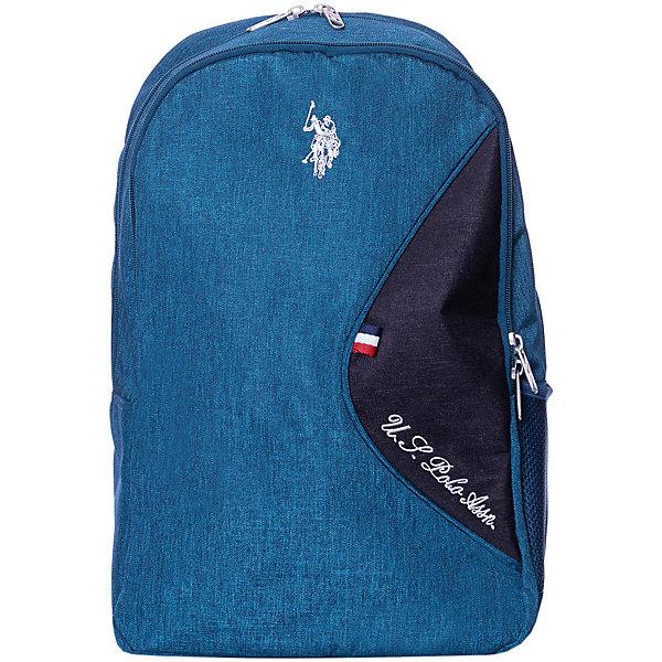 Купить Рюкзак U.S. Polo Assn, тёмно-синий, U.S. POLO ASSN., Турция, Унисекс
