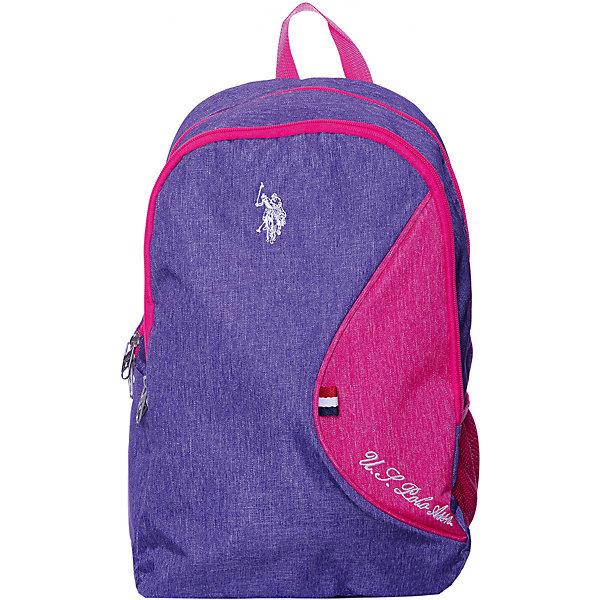 Купить Рюкзак U.S. Polo Assn, фиолетовый, U.S. POLO ASSN., Турция, Унисекс
