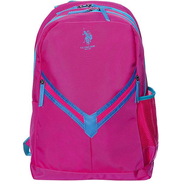 Купить Рюкзак U.S. Polo Assn, розовый, U.S. POLO ASSN., Турция, Женский