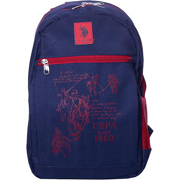 U.S. POLO ASSN. Рюкзак U.S. Polo Assn, тёмно- босоножки u s polo assn