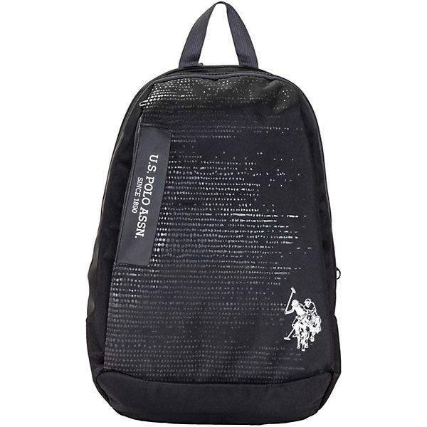 Купить Рюкзак U.S. Polo Assn, чёрный, U.S. POLO ASSN., Турция, черный, Мужской