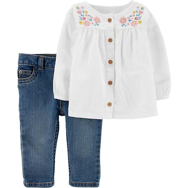 carter`s Комплект carter`s: туника и джинсы