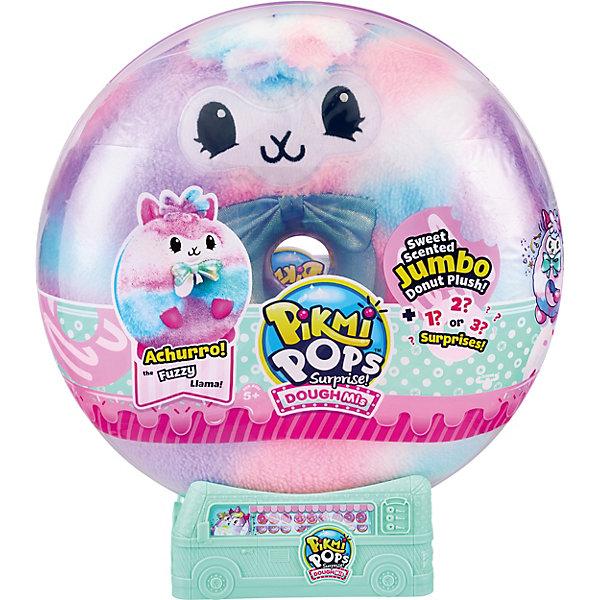 Купить Игровой набор Moose Pikmi Pops Плюшевый пончик: лама , большой, Китай, разноцветный, Женский