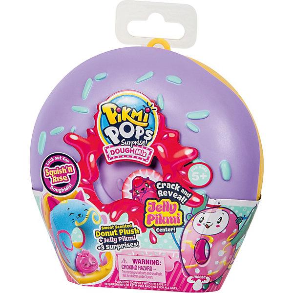 Купить Игровой набор Moose Pikmi Pops Большой плюшевый пончик , фиолетовый, Китай, Женский