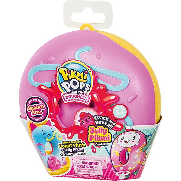 Купить Игровой набор Moose Pikmi Pops Большой плюшевый пончик , розовый, Китай, Женский