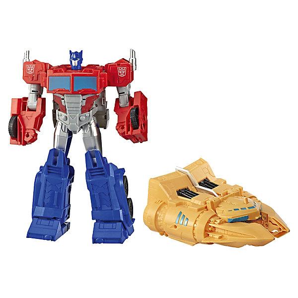 Hasbro Трансформеры Transformers Кибервселенная: Сила ковчега Оптимус Прайм, 27,3 см