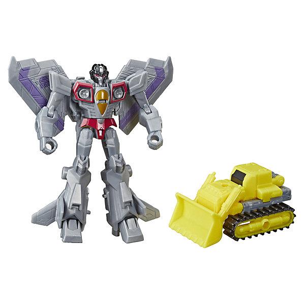 Hasbro Трансформеры Transformers Кибервселенная: Алмазная броня боевого класса Старскрим, 14 см
