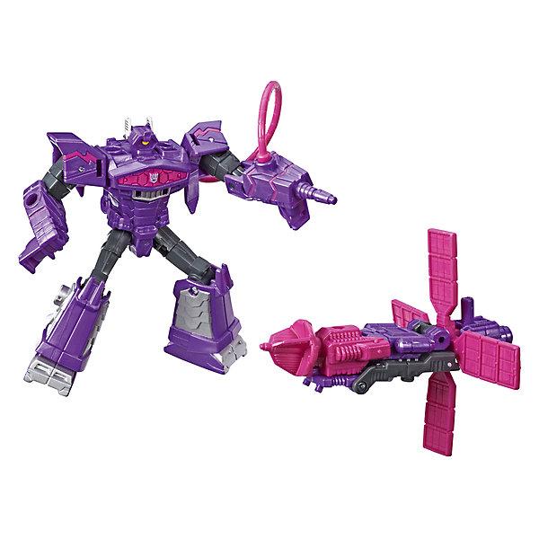 Hasbro Трансформеры Transformers Кибервселенная: Спарк Армор Шоквейв