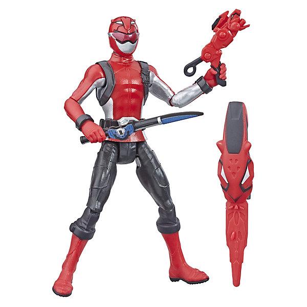 Hasbro Игровая фигурка Power Rangers Beast Morphers Красный Рейнджер, 15 см цены