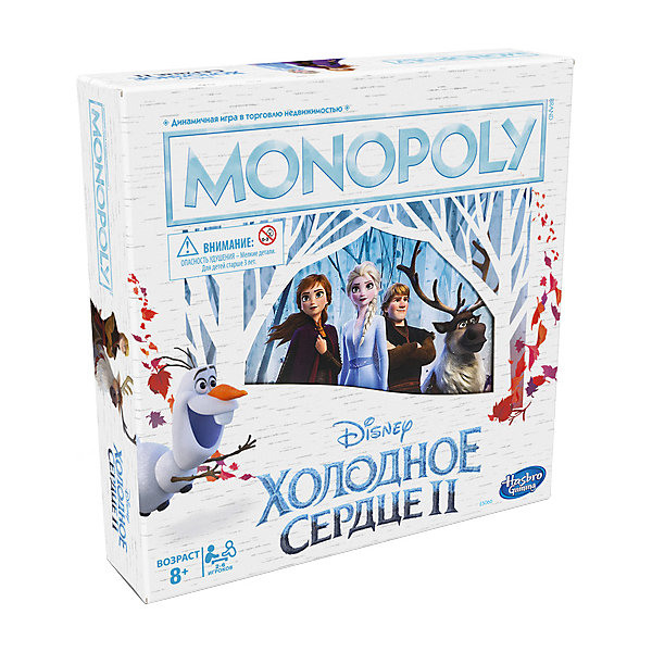 Hasbro Настольная игра Hasbro Gaming Монополия Холодное Сердце настольная игра для вечеринки hasbro монополия моя первая игра a6984h