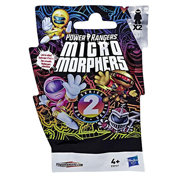 Hasbro Набор фигурок Power Rangers Micro Morphers 2 шт, серия