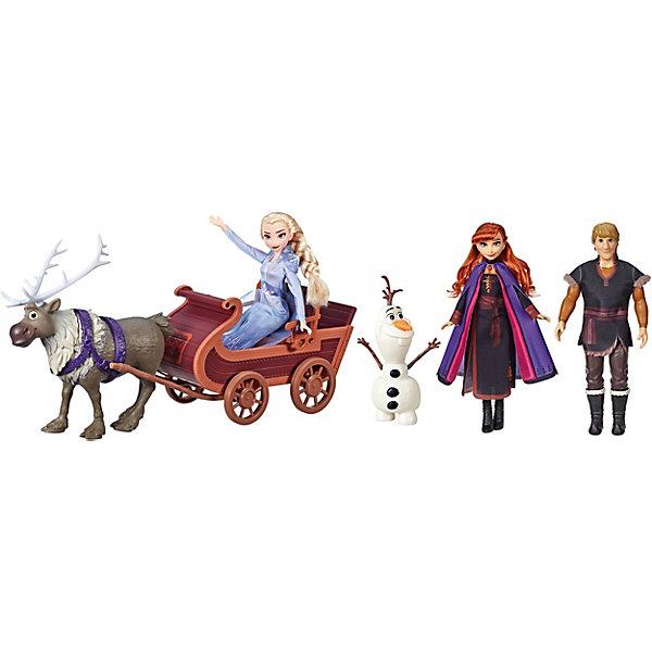 Hasbro Игровой набор Disney Princess Холодное сердце 2 Путешествие на санях