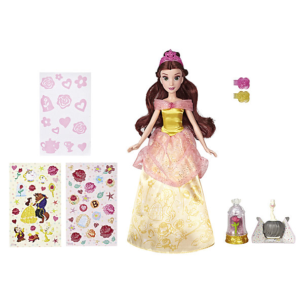 цена на Hasbro Кукла Disney Princess Сверкающая Белль