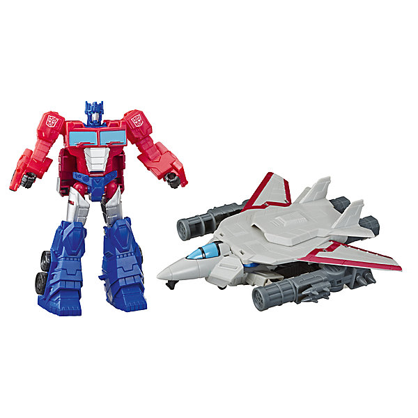 Hasbro Трансформеры Transformers Кибервселенная: Алмазная броня класса Элит Оптимус Прайм, 12,7 см