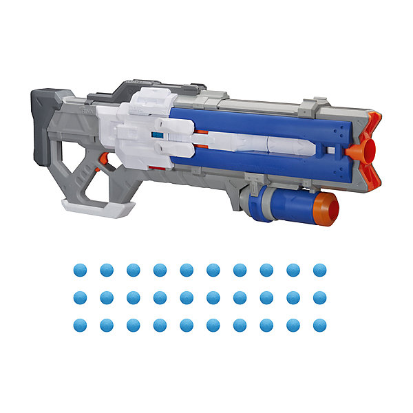 Фото - Hasbro Бластер Nerf Rival Overwatch Солдат-76 игрушечное оружие nerf rival бластер с шариками гелиос e3108121