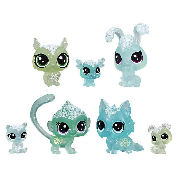 "Hasbro Набор фигурок Littlest Pet Shop ""Холодное царство"", 7 бирюзовых петов"