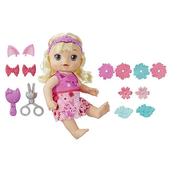 Hasbro Интерактивная кукла Baby Alive Малышка у парикмахера