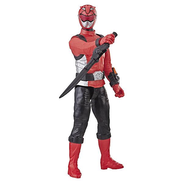 Hasbro Игровая фигурка Power Rangers Beast Morphers Красный Рейнджер, 30 см игровые фигурки papo игровая реалистичная фигурка конь рыцаря быка