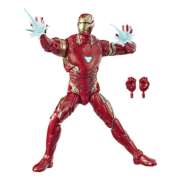 Hasbro Игровая фигурка Marvel Legends Железный человек, 15 см
