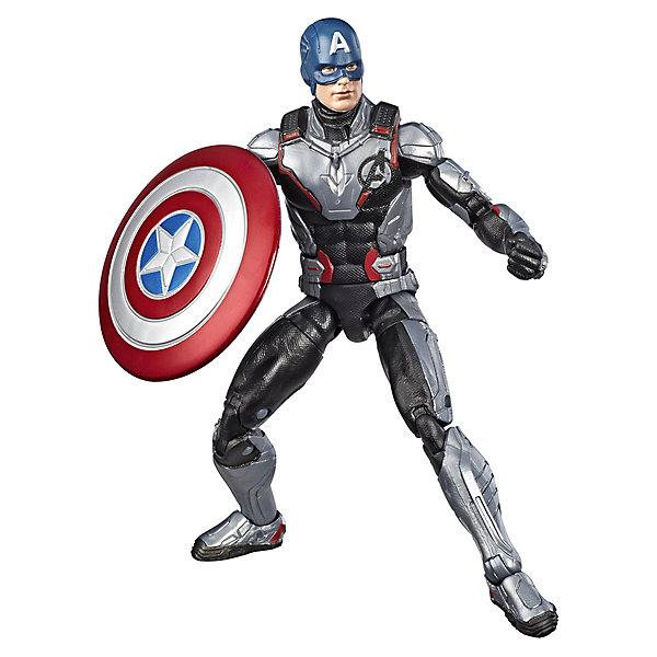 Hasbro Игровая фигурка Marvel Legends Капитан Америка, 15 см
