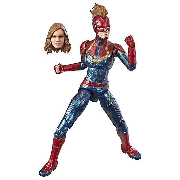 Hasbro Игровая фигурка Marvel Legends Капитан Марвел, 15 см
