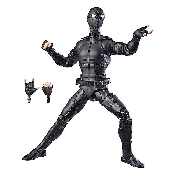 Hasbro Игровая фигурка Marvel Legends Человек-Паук в стелс-костюме, 15 см