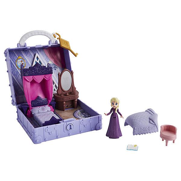 Купить Игровой набор Disney Princess Холодное сердце 2 Шкатулка с Эльзой, Hasbro, Китай, разноцветный, Женский