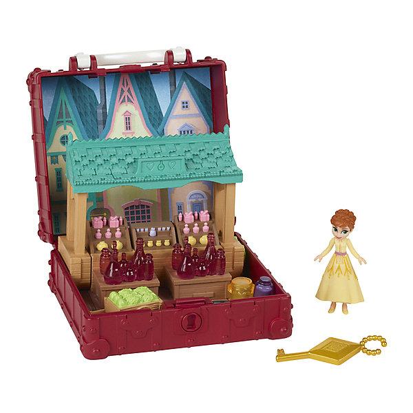 Купить Игровой набор Disney Princess Холодное сердце 2 Шкатулка с Анной, Hasbro, Китай, разноцветный, Женский