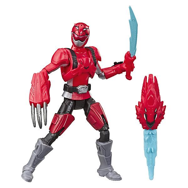 Hasbro Игровая фигурка Power Rangers Beast Morphers Красный Рейнджер с боевым ключом, 15 см