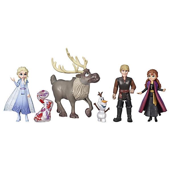 Купить Набор фигурок Disney Princess Холодное сердце 2 , 6 шт, Hasbro, Китай, разноцветный, Женский