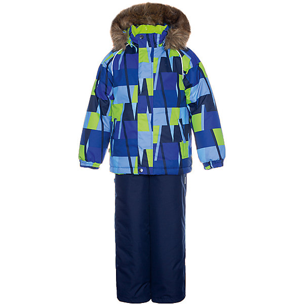 Купить Комплект Huppa Winter: куртка и полукомбинезон, Эстония, синий, 104, 92, 110, 140, 98, 128, 116, 122, 134, Мужской