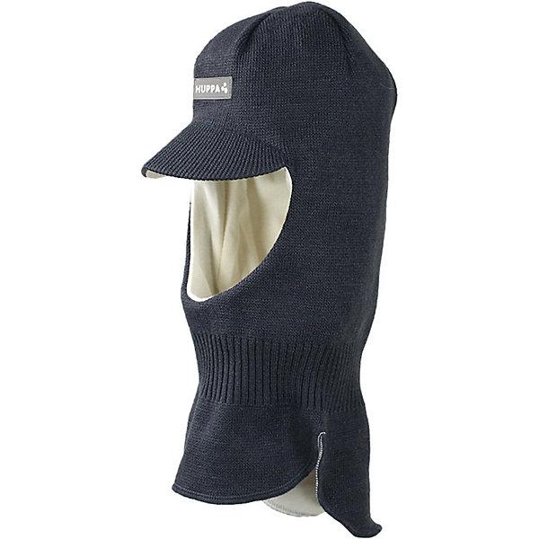 Купить Вязаная шапка-шлем SINDRE HUPPA, Эстония, темно-серый, 47-49, 51-53, 55-57, Мужской