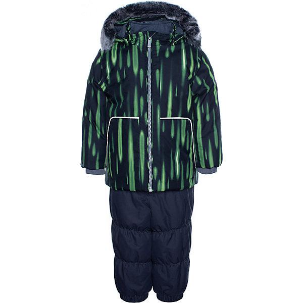 Купить Комплект Huppa Russel: куртка и полукомбинезон, Эстония, светло-зеленый, 92, 80, 98, 104, 110, 86, Мужской