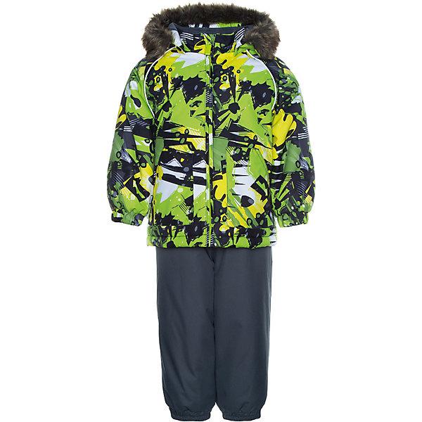Купить Комплект Huppa Avery: куртка и полукомбинезон, Эстония, светло-зеленый, 80, 110, 92, 98, 86, 104, Мужской