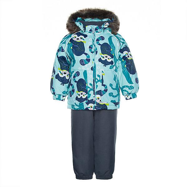 Купить Комплект Huppa Avery: куртка и полукомбинезон, Эстония, зеленый, 86, 80, 92, 98, 104, Унисекс