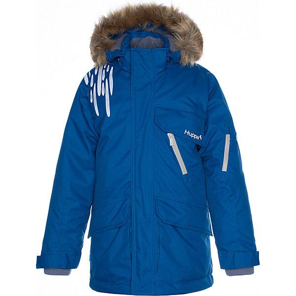 Купить Утеплённая куртка Huppa Marten 1, Эстония, бирюзовый, 122, 170/176, 134, 146, 176, 140, 182, 164/170, 152, 116, 158/164, 128, Мужской