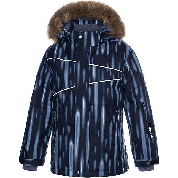 Купить Утеплённая куртка Huppa Nortony 1, Эстония, черный, 170/176, 146, 158/164, 128, 134, 152, 122, 176, 182, 164/170, 140, Мужской