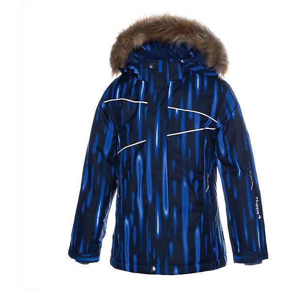 Купить Утеплённая куртка Huppa Nortony 1, Эстония, темно-синий, 158/164, 152, 164/170, 176, 128, 140, 182, 116, 122, 170/176, 146, 134, Мужской