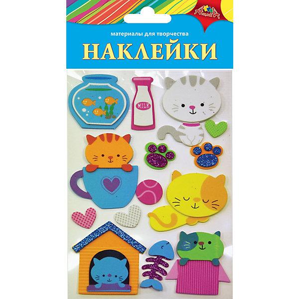 АппликА Наклейки Апплика Ассорти Забавные котята апплика набор для творчества апплика декоративные наклейки из страз beauty