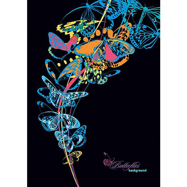 АппликА Записная книжка Апплика Голубые бабочки, 96 листов