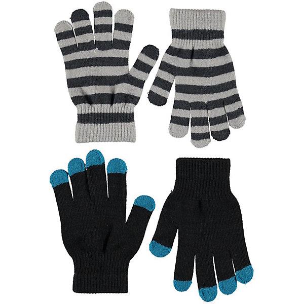 Купить Перчатки Molo, 2 пары, Китай, черный, Мужской