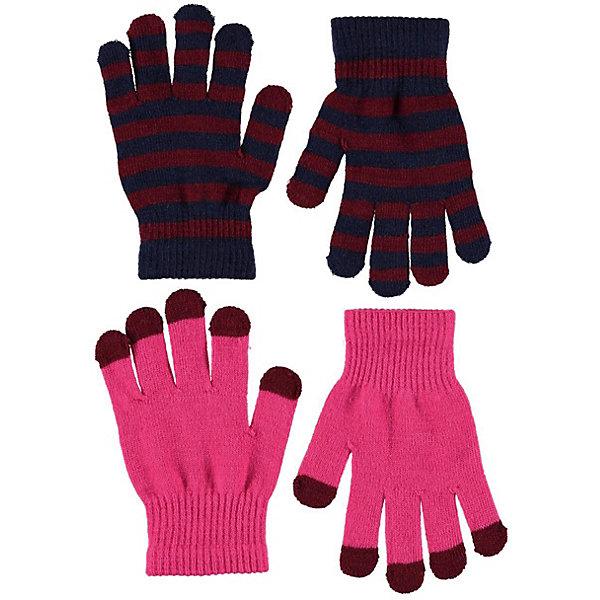 Купить Перчатки Molo, 2 пары, Китай, розовый, Женский