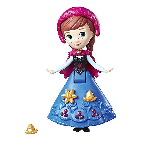 Hasbro Мини-кукла Disney Princess Холодное сердце, Анна в синем платье