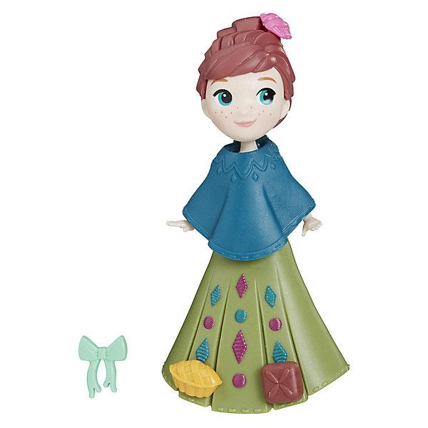 Hasbro Мини-кукла Disney Princess Холодное сердце, Анна в зелёном платье