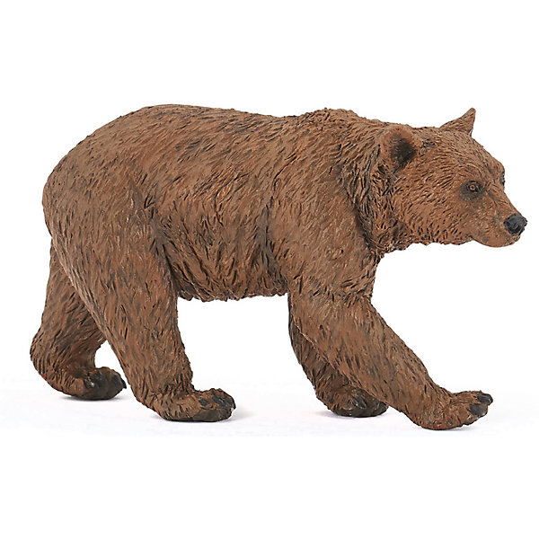 Купить Игровая фигурка PaPo Бурый медведь, Китай, Унисекс
