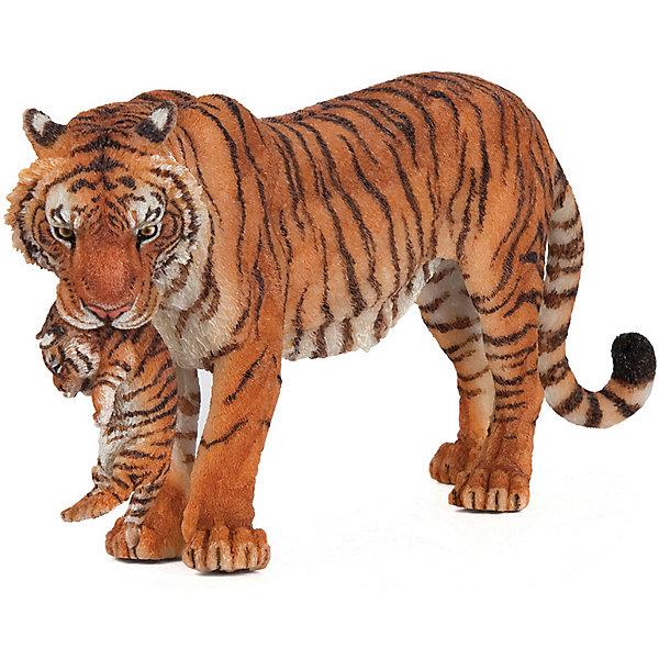 Купить Игровая фигурка PaPo Тигрица с детёнышем, Китай, Унисекс