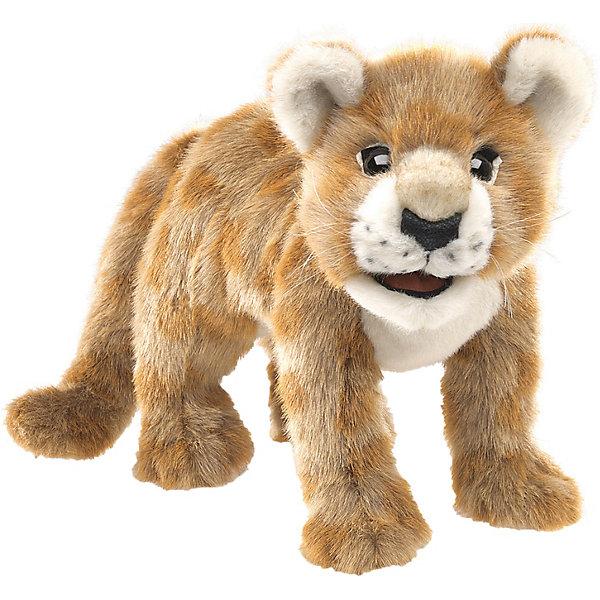Folkmanis Мягкая игрушка на руку Африканский львенок, 46 см
